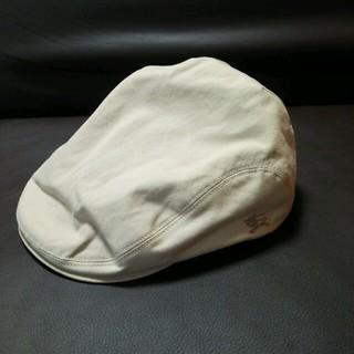 バーバリー(BURBERRY)のBURBERRYハンチング帽(ハンチング/ベレー帽)