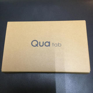 キョウセラ(京セラ)の新品 Quatab01 KYT31 ピンク(タブレット)