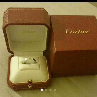 カルティエ(Cartier)の専用  値下げ!カルティエ ラニエール wG  8号(リング(指輪))