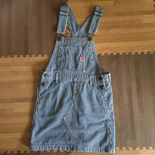 ブリーズ(BREEZE)の美品♡BREEZE サロペットスカート♡140cm(スカート)