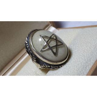 限定 hyde着 アレックスストリーター エンジェルハートリング 白×ラメ 15(リング(指輪))