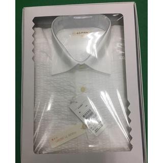 アルファ(alpha)の新品 アルファ カッターシャツ メンズ 半袖(シャツ)