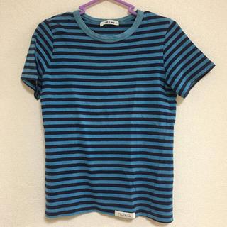 トゥアクー(tout a coup)のトゥアクー ボーダーTシャツ(Tシャツ(半袖/袖なし))