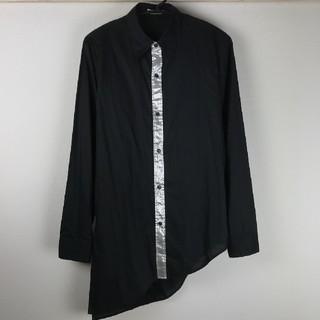 ミルクボーイ(MILKBOY)の美品 MILK BOY ミルクボーイ 長袖シャツ ブラック(シャツ)
