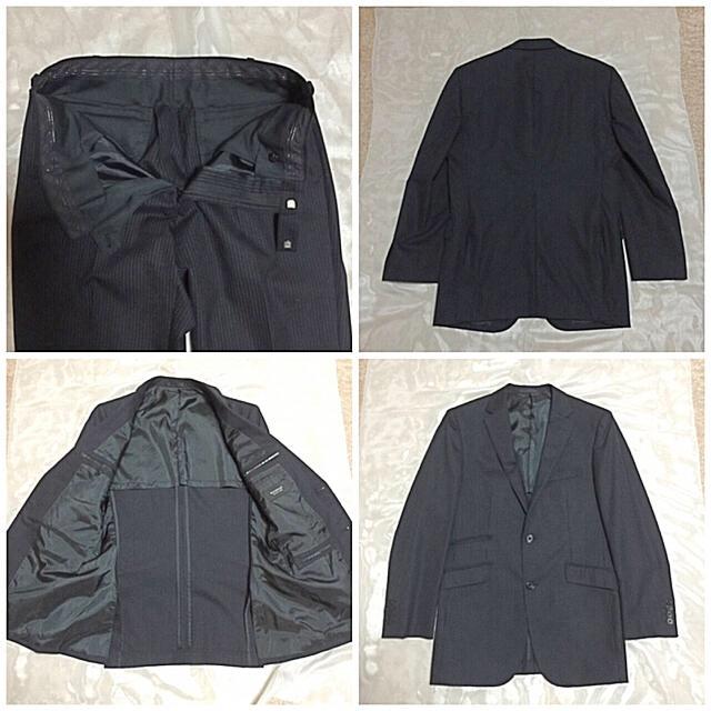 BURBERRY(バーバリー)のバーバリー ブルーレーベル BURBERRY 上下スーツセット ストライプ  メンズのスーツ(セットアップ)の商品写真
