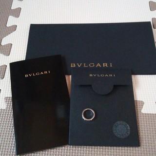 ブルガリ(BVLGARI)のホワイトゴールド 1ダイヤリング(リング(指輪))