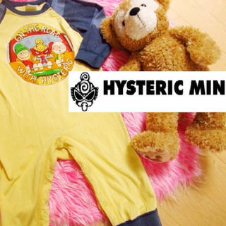 ヒステリックミニ(HYSTERIC MINI)の子供服♡可愛い両面ヒスミニ♡のロンパ80(ロンパース)