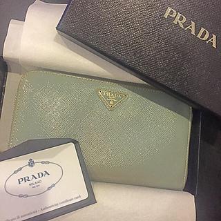 プラダ(PRADA)のプラダ★サフィアーノ★長財布(財布)