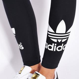アディダス(adidas)のS【新品/即日発送】adidas オリジナルス レディース レギンス 黒(レギンス/スパッツ)
