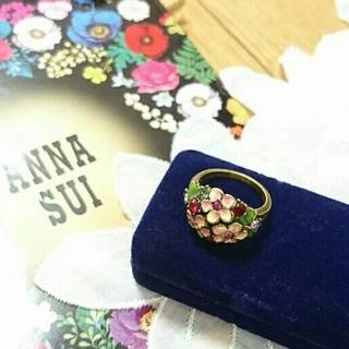 アナスイ(ANNA SUI)のアナスイ  ☆15年前デザイン物 ☆ アンティーク調 お花柄 指輪♪(リング(指輪))