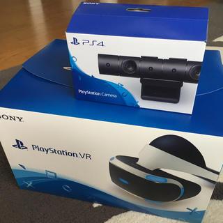 プレイステーションヴィーアール(PlayStation VR)のPSVR Playstation Camera セット(家庭用ゲーム機本体)