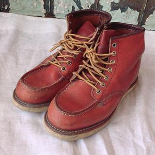 レッドウィング(REDWING)の【格安】  REDWING 赤 7ホール BEAMS(ブーツ)