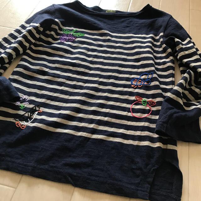 GO TO HOLLYWOOD(ゴートゥーハリウッド)の⭐️けいさま専用です。☆ゴートゥーハリウッド 7.8分袖 刺繍Tシャツ☆ キッズ/ベビー/マタニティのキッズ服女の子用(90cm~)(Tシャツ/カットソー)の商品写真
