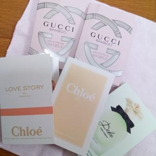グッチ(Gucci)のグッチなど 香水 サンプル5個セット(サンプル/トライアルキット)