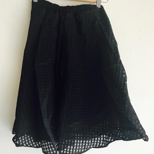 FREE'S MART(フリーズマート)のfree's mart ミディスカート 黒 フリーズマート レディースのスカート(ひざ丈スカート)の商品写真
