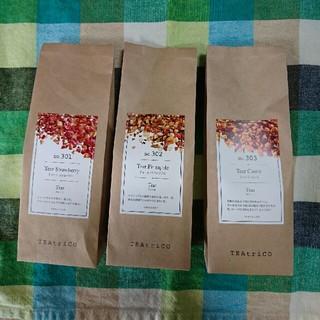 TEAtrico (ティートリコ) 食べれる紅茶 50g色々3点セット(茶)