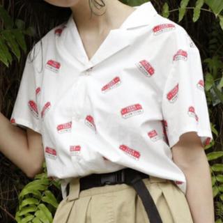 ダブルネーム(DOUBLE NAME)の柄開襟シャツ(シャツ/ブラウス(半袖/袖なし))