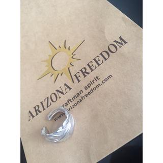 アリゾナフリーダム(ARIZONA FREEDOM)のArizona リング フェザー silver925(リング(指輪))