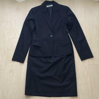 ナチュラルビューティーベーシック(NATURAL BEAUTY BASIC)の黒一つボタンスーツ(スーツ)
