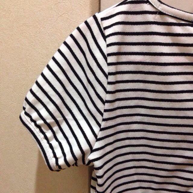 mysty woman(ミスティウーマン)のペプラムトップス mysty woman レディースのトップス(Tシャツ(半袖/袖なし))の商品写真