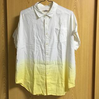 ダブルネーム(DOUBLE NAME)のグラデーションシャツ(シャツ/ブラウス(半袖/袖なし))
