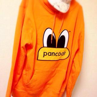 pancoatパーカー♡オレンジXL(パーカー)