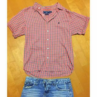 ラルフローレン(Ralph Lauren)のまぁ様専用!!ラルフローレン 半袖ゆるシャツ(シャツ/ブラウス(半袖/袖なし))