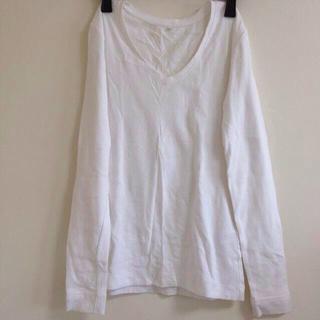 ムジルシリョウヒン(MUJI (無印良品))の無印♡VネックロンT(Tシャツ(長袖/七分))