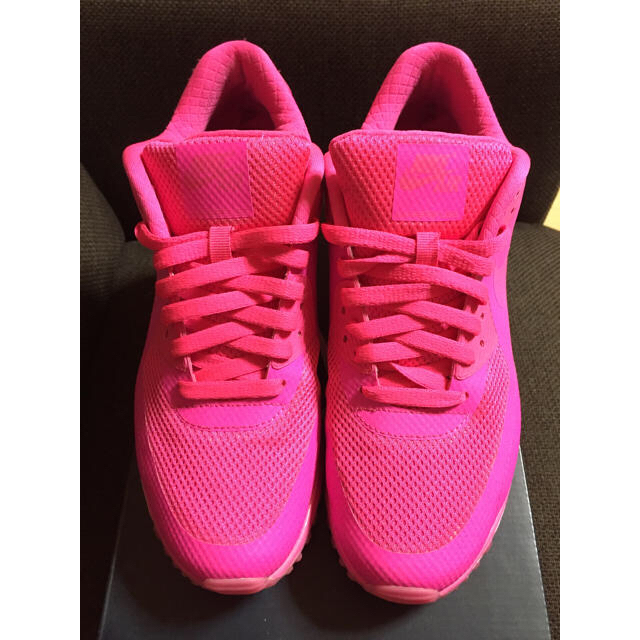 NIKE(ナイキ)のナイキID ピンク メンズの靴/シューズ(スニーカー)