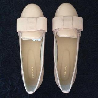 ページボーイ(PAGEBOY)のフラットシューズ(ローファー/革靴)