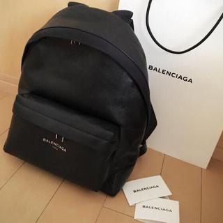バレンシアガバッグ(BALENCIAGA BAG)の新品  お値下げ バレンシアガ ネイビーバックパック(リュック/バックパック)