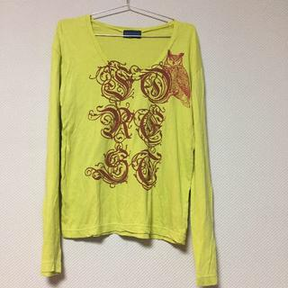 レイジブルー(RAGEBLUE)のrage blue カットソー Tシャツ イエロー 長袖 ロンT(Tシャツ/カットソー(七分/長袖))