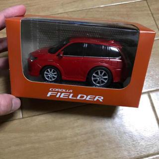 トヨタ(トヨタ)の【非売品】トヨタ カローラ フィールダー プルバックカー(ノベルティグッズ)