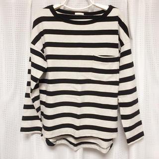 ジーユー(GU)の☆GU☆ ロングTシャツ ボーダー(Tシャツ(長袖/七分))