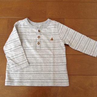 ギャップ(GAP)のGAP*長袖シャツ 80(シャツ/カットソー)