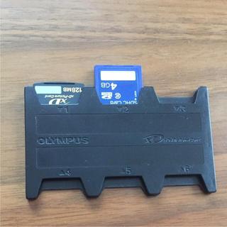 オリンパス(OLYMPUS)のSDカード入れ(その他)
