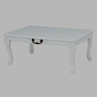 猫脚センターテーブル ローテーブル リビングテーブル 猫足テーブル(ローテーブル)
