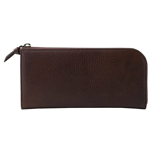 MUJI (無印良品)(ムジルシリョウヒン)の【新品】MUJI L ファスナー長財布 レディースのファッション小物(財布)の商品写真