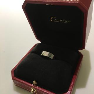 カルティエ(Cartier)の値下げ♡カルティエ ラブリング(リング(指輪))