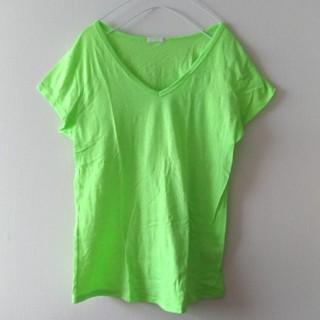 ジーユー(GU)の【美品 】ライトグリーンTシャツ♡GU(Tシャツ(半袖/袖なし))