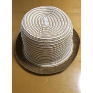 シマムラ(しまむら)の最終処分価格 新品 麦わら帽子 サマーハット かんかん帽(麦わら帽子/ストローハット)