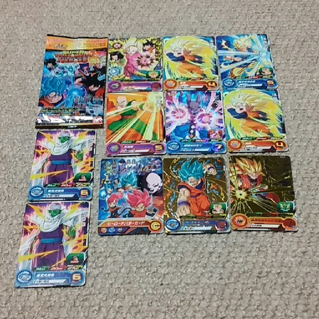 ドラゴンボール(ドラゴンボール)のスーパードラゴンボールヒーローズ カードセット エンタメ/ホビーのアニメグッズ(カード)の商品写真