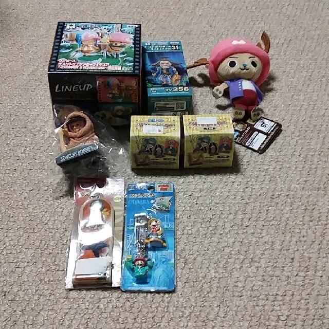 BANDAI(バンダイ)のONE PIECEグッズ詰め合わせ エンタメ/ホビーのおもちゃ/ぬいぐるみ(キャラクターグッズ)の商品写真