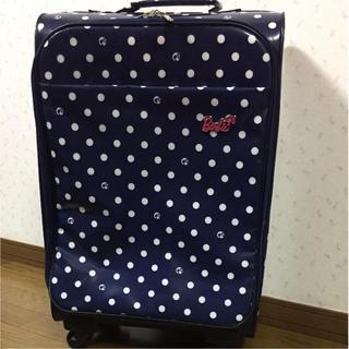 バービー(Barbie)のキャラクターキャリーケース(スーツケース/キャリーバッグ)