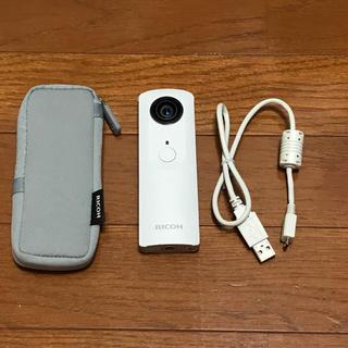 リコー(RICOH)のRICOHシータM15白(コンパクトデジタルカメラ)