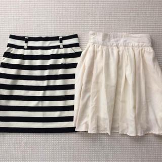 ローリーズファーム(LOWRYS FARM)のローリーズファーム LOWRYS FARMスカート2枚セット(ミニスカート)