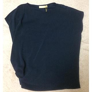 ガリャルダガランテ(GALLARDA GALANTE)の新品タグ付き ガリャルダガランテ Tシャツ ネイビー(Tシャツ/カットソー(半袖/袖なし))