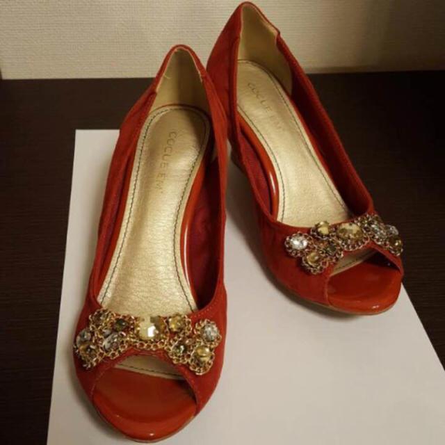 COCUE(コキュ)のコキュ パンプス レディースの靴/シューズ(ハイヒール/パンプス)の商品写真
