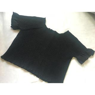カスタネ(Kastane)のkastane シャーリングブラウス(シャツ/ブラウス(半袖/袖なし))