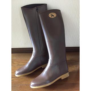 ダフナブーツ(Dafna Boots)のDAFNAダフナ レインブーツ ブラウン(レインブーツ/長靴)